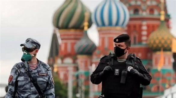 عسكريان روسيان في موسكو (أرشيف)