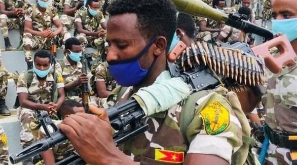 مسلح من الجبهة الشعبية لتحرير تيغراي (أرشيف)