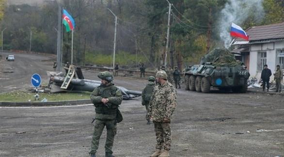 جنود حفظ السلام الروس في ناغورنو قره باخ (أرشيف)