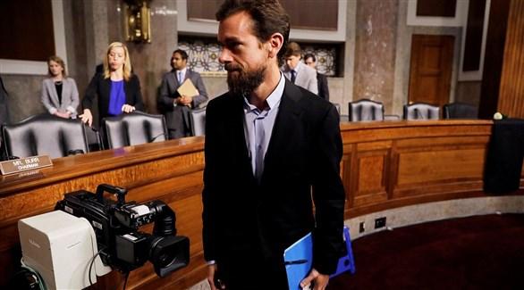 الرئيس التنفيذي لشركة تويتر جاك دورسي في الكونغرس (أرشيف)