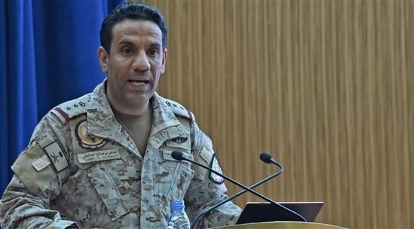 المتحدث الرسمي باسم قوات تحالف دعم الشرعية تركي المالكي (أرشيف)