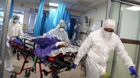 أحد المصابين بفيروس كورونا (أرشيف)