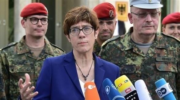 وزيرة الدفاع الألمانية انيجريت كرامب-كارنباور (أرشيف)