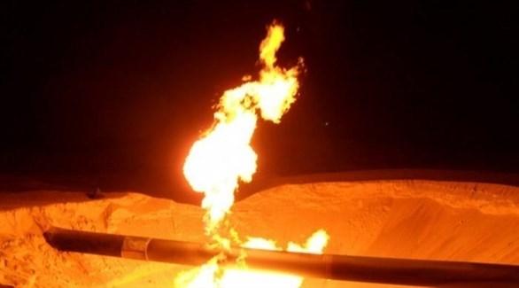 انفجار خط أنابيب غاز في مصر (أرشيف)