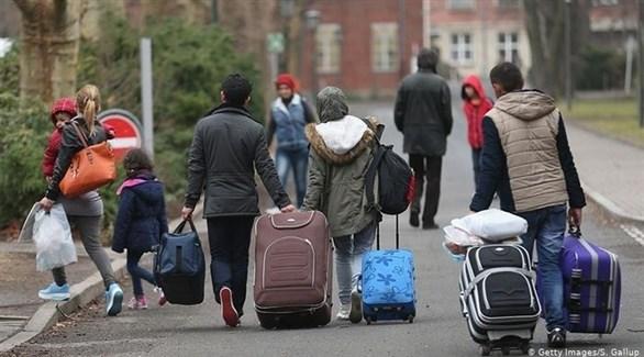لاجئون في ألمانيا (أرشيف)