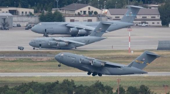 طائرات عسكرية أمريكية في قاعدة بألمانيا (أرشيف)