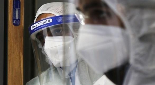 كوادر طبية في مستشفى مخصص لكورونا في الأردن (المملكة)