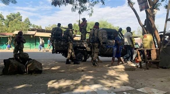 مسلحون في إقليم تيغراي (أرشيف)