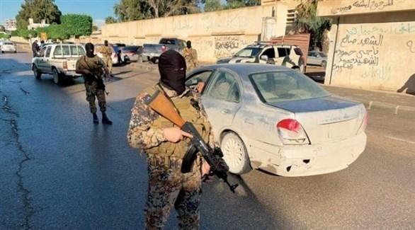 مسلحون من ميليشيات الوفاق في مصراتة الليبية (رويترز)