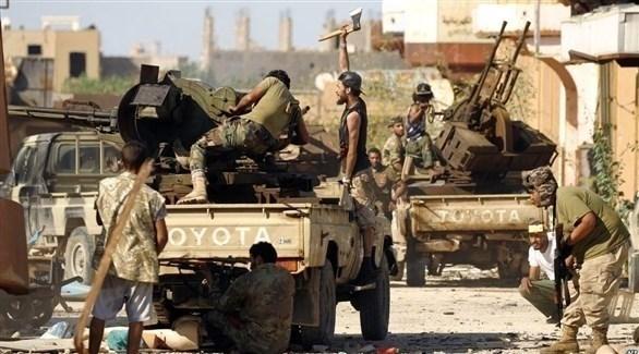 ميليشيات إخوانية مسلحة في ليبيا (أرشيف)