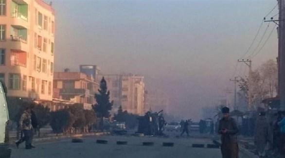 موقع الهجوم في كابل (خام برس)