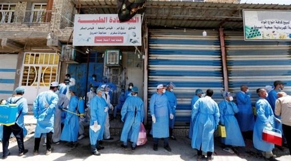 كوادر طبية عراقية (أرشيف)