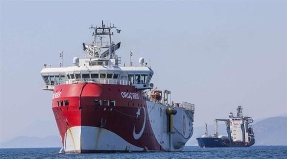 السفينة التركية للبحث عن الغاز الطبيعي في المتوسط (أرشيف)