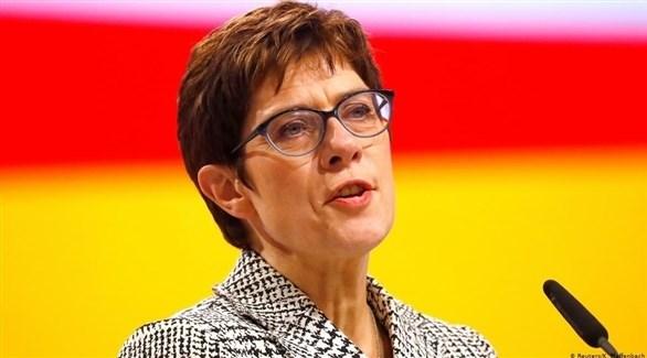 وزيرة الدفاع الألمانية أنيغريت كرامب كارنباور (أرشيف)