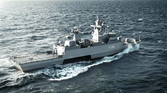 سفينة حربية من صنع ألمانيا (أرشيف)