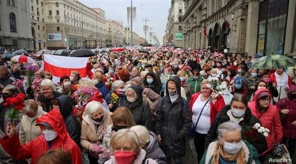 مظاهرات في بيلاروسيا (أرشيف)