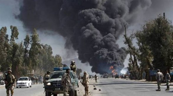 انفجار سابق في أفغانستان (أرشيف)