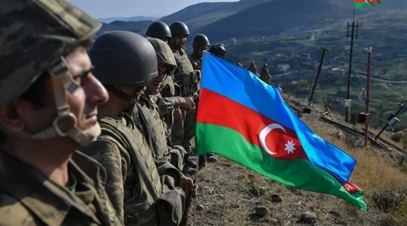 عدد من الجنود بالجيش الأذري (أرشيف)