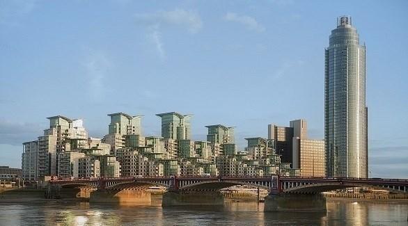 جسر كريستال سبان في لندن (ديلي ميل)
