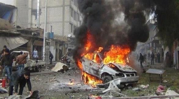 انفجار في العراق (أرشيف)