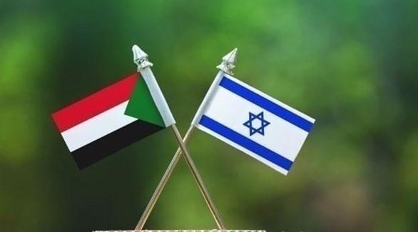 علما إسرائيل والسودان (أرشيف)