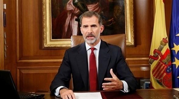 ملكا اسبانيا فيليبي السادس (أرشيف)
