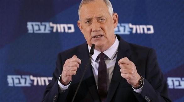 ويزر الدفاع الإسرائيلي بيني غانتس (أرشيف)