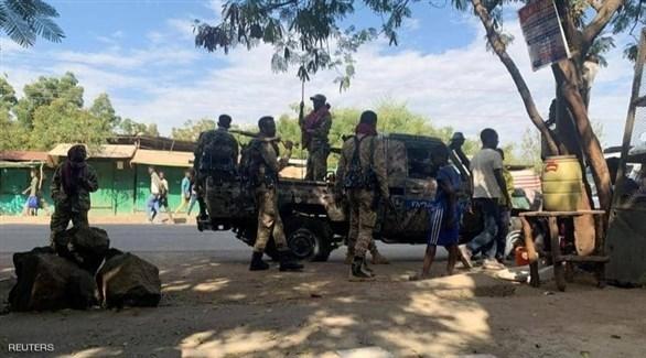 مسلحون من قوات إقليم تيغراي في إثيوبيا (أرشيف)