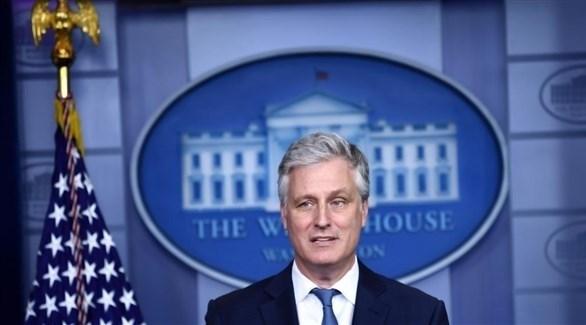 مستشار الأمن القومي الأمريكي روبرت أوبراين (أ ف ب)