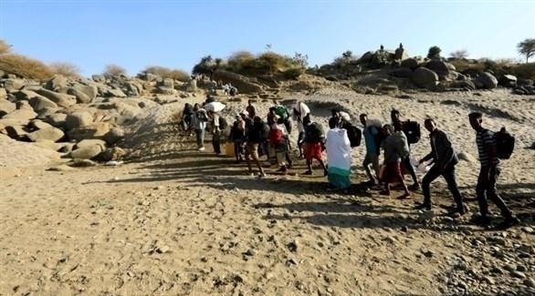 مدنيون في تيغراي يفرون من الحرب (أرشف)