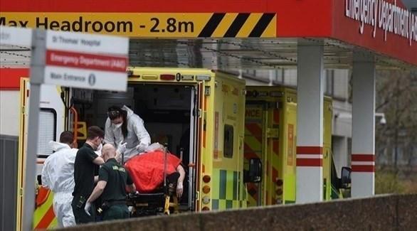 سيارة إسعاف بريطانية (أرشيف)