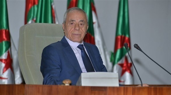 رئيس مجلس النواب الجزائري الأسبق السعيد بوحجة (أرشيف)