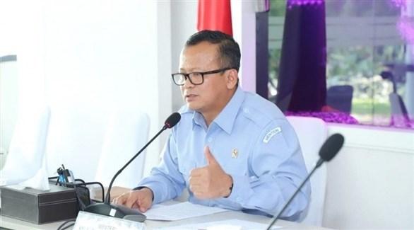 وزير الشؤون البحرية ومصائد الأسماك الإندونيسي إدهي برابوو (جاكرتا غلوب)