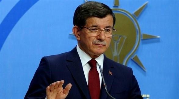 رئيس حزب المستقبل التركي أحمد داود أوغلو (أرشيف)