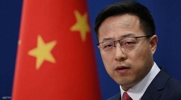 المتحدث باسم الخارجية الصينية تشاو ليجيان (أرشيف)