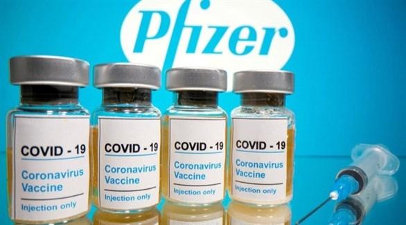 لقاح فايزر المحتمل ضد فيروس كورونا المستجد (أرشيف)