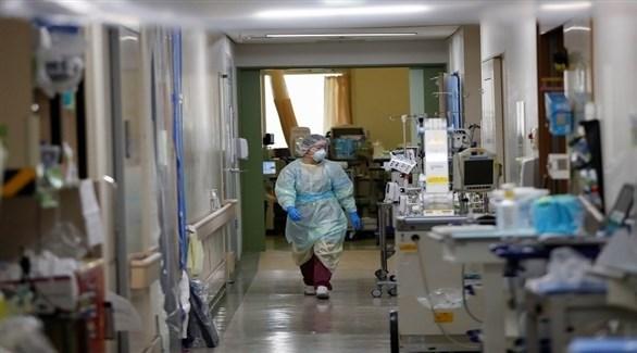 مستشفى لمرضى كورونا في اليابان (أرشيف)