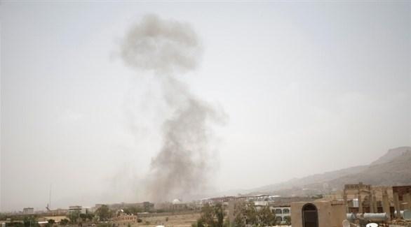 غارة سابقة على صنعاء اليمنية (أرشيف)