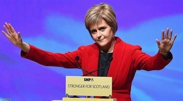 رئيسة وزراء اسكتلندا نيكولا ستيرغن (أرشيف)