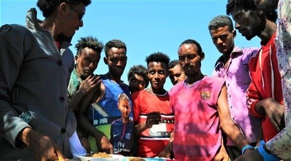 لاجئون إثيوبيون في السودان (أي بي ايه)