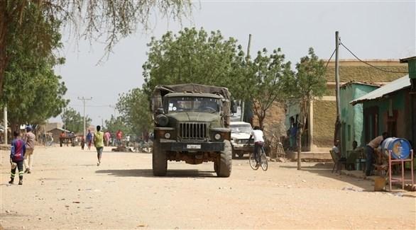 ناقلة جنود للجيش الإثيوبي (أرشيف)