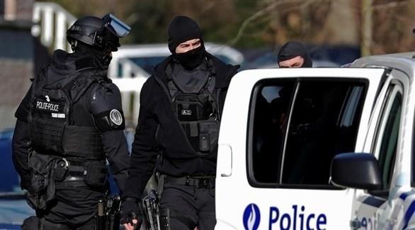 عناصر من الشرطة في بلجيكا (أرشيف)