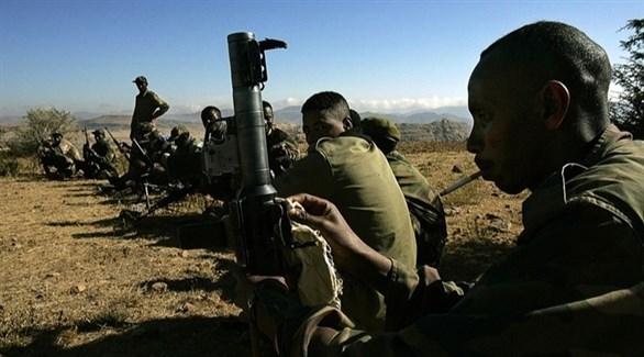 مسلحون من جبهة تحرير تيغراي (أرشيف)