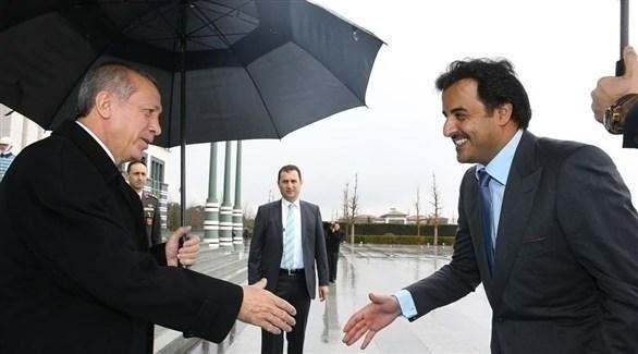 تميم و أردوغان  (أرشيف)