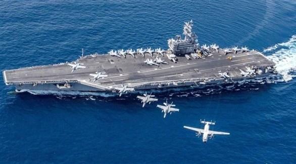 البحرية الأمريكية حاملة الطائرات نيميتز (أرشيف)