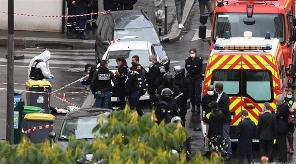 شرطة فرنسية في موقع الهجوم (أرشيف)