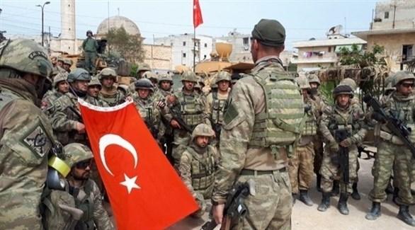 جنود من الجيش التركي شمال سوريا (أرشيف)