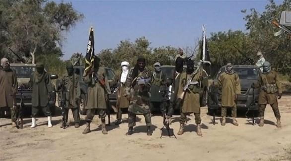 مسلحون بولاية بورنو في شمال شرق نيجيريا (أرشيف)