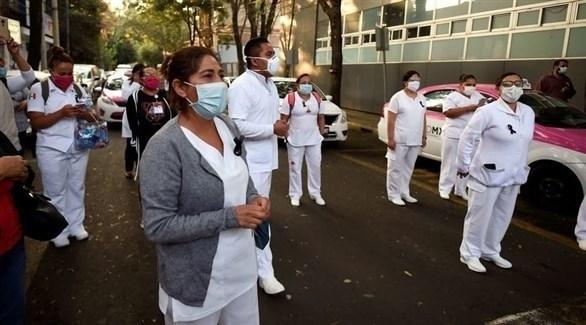 طواقم طبية لمكافحة كورونا في المكسيك (أرشيف)