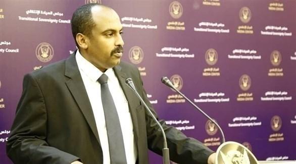 المُتحدِّث الرسمي باسم  مجلس السيادة الانتقالي الحاكم في السودان، محمد الفكي سليمان (أرشيف)